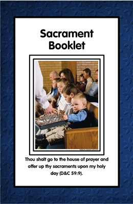 Sacrament Booklet