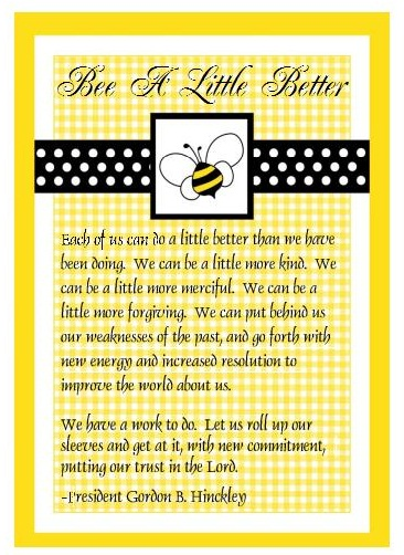 bee a little better logo