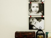 DIY Photos on canvas by The Sassy Pepper