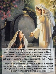 """He Is Risen""—a Prophet's Testimony  April 2012 HT"