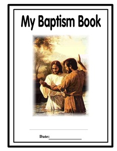 BAPTISM BOOK A Front