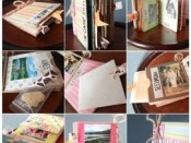 Paper Bag Journals for Girls Camp