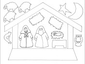 Christmas Nativity Advent w/ Pictures