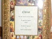 The Living Christ Picture and Mat / Greg Olsen mat