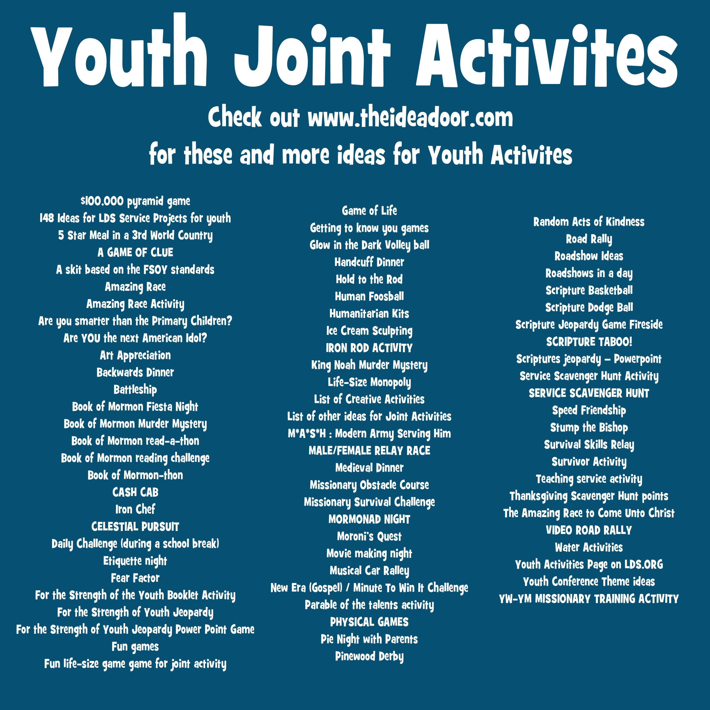 Youth Joint Activities