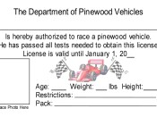 Department of Pinewood Vehicles