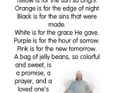 The Jelly Bean Prayer