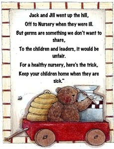 Door Signs and Poems that can be used in Nursery