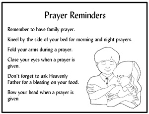 Prayer Reminder Cards