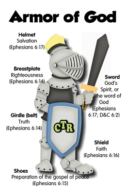 Armor of God BW sm