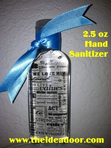 Stand in Holy Places – Hand Sanitizer