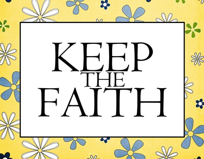 Keep the Faith flower sm