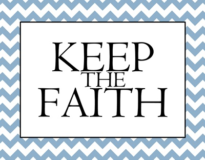Keep the Faith lt blue sm
