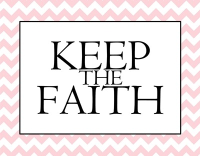 Keep the Faith pink sm