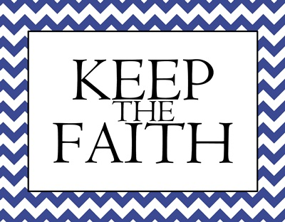 Keep the Faith sm
