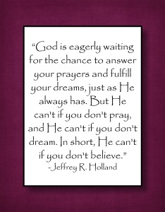 God is eagerly waiting for the chance to answer your prayers…