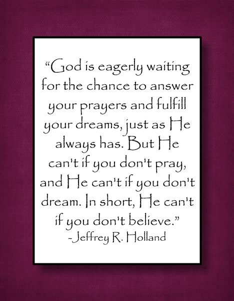 God is eagerly waiting Jeffrey R Holland sm