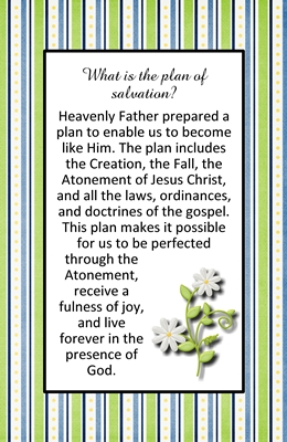 What is the plan of salvation sm