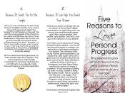 Five Reasons to Love Personal Progress New Beginnings