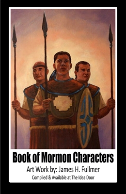 Book of Mormon Characters Cover sm