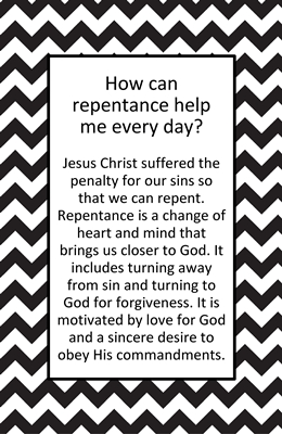 How can repentance help me every day sm