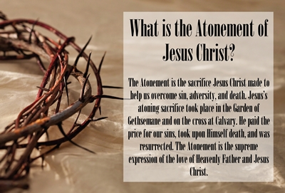 What is the Atonement of Jesus Christ sm