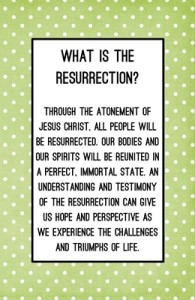 What is the resurrection?