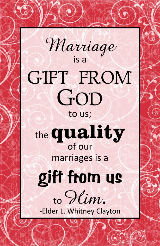 marriage is a gitf from god may 2013