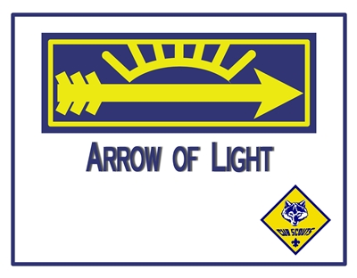 Arrow of Light Certificate 2 sm