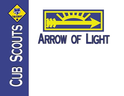 Arrow of Light Certificate 4 sm