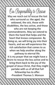 Our Responsibility to Rescue / OCT HT 2013