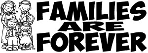 Make your own Families are Forever pen inserts
