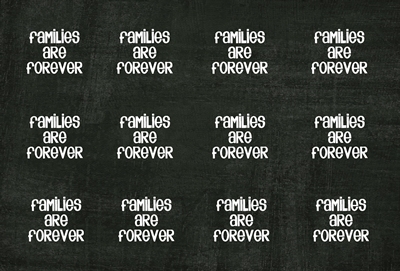 Families are Forever Bottle cap black preview