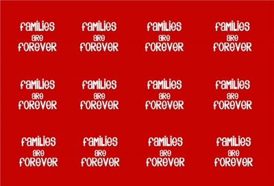 Families are Forever Bottle cap red preview