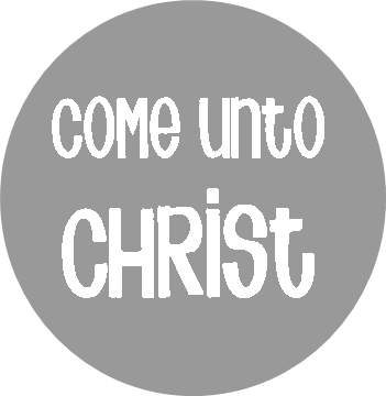 Come unto Christ necklace 2 gray RD