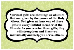 How does Heavenly Father want me to use my spiritual gifts?