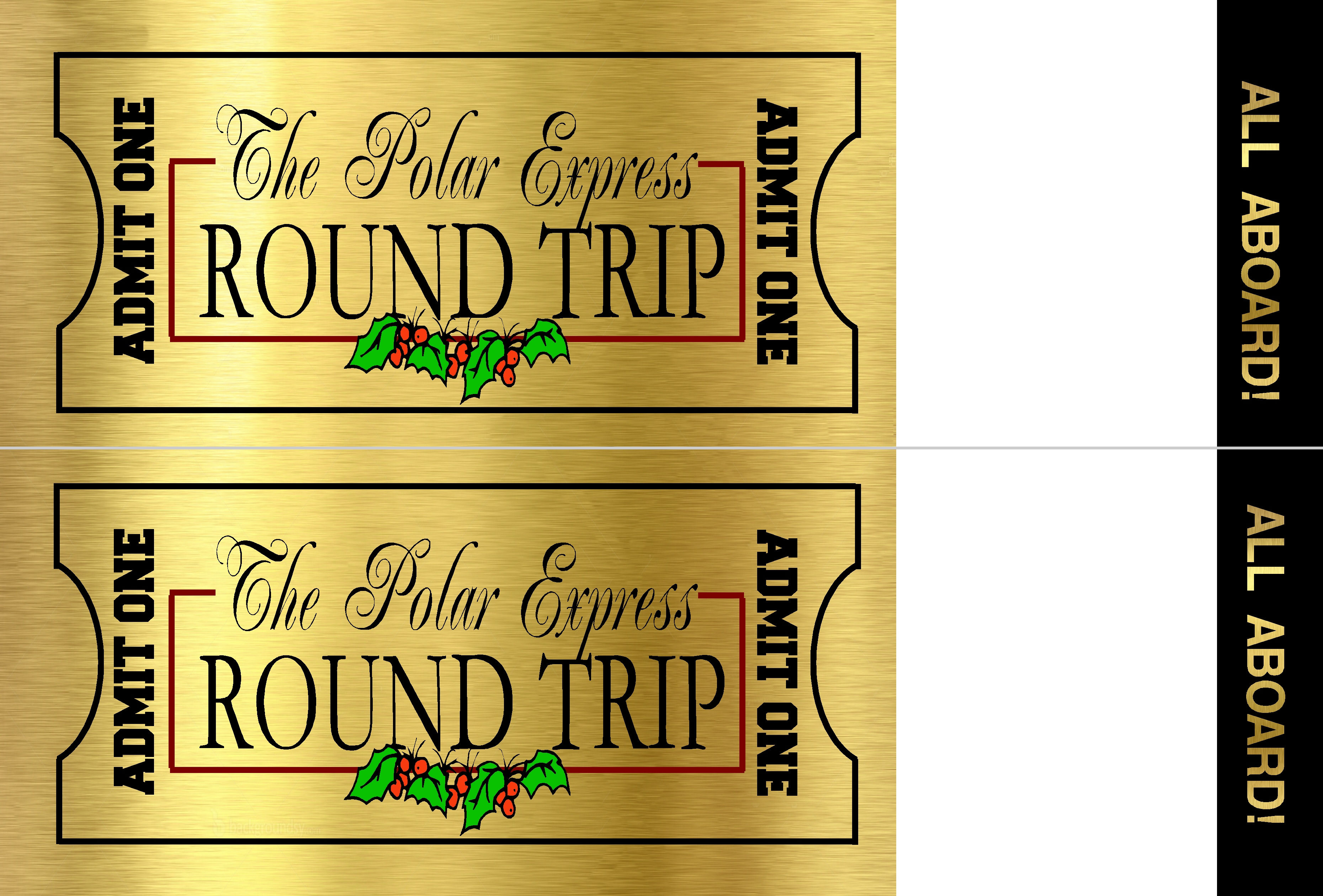photo relating to Polar Express Golden Ticket Printable known as Polar Specific Ticket The Principle Doorway