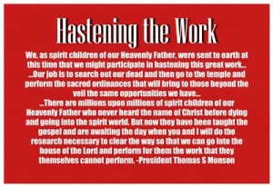June 2014 HT Hastening the Work