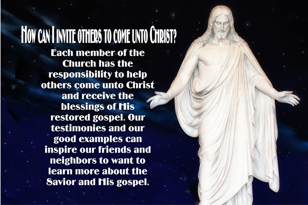 December Building the Kingdom of God in the Latter Days - How can I invite others to come unto Christ sm