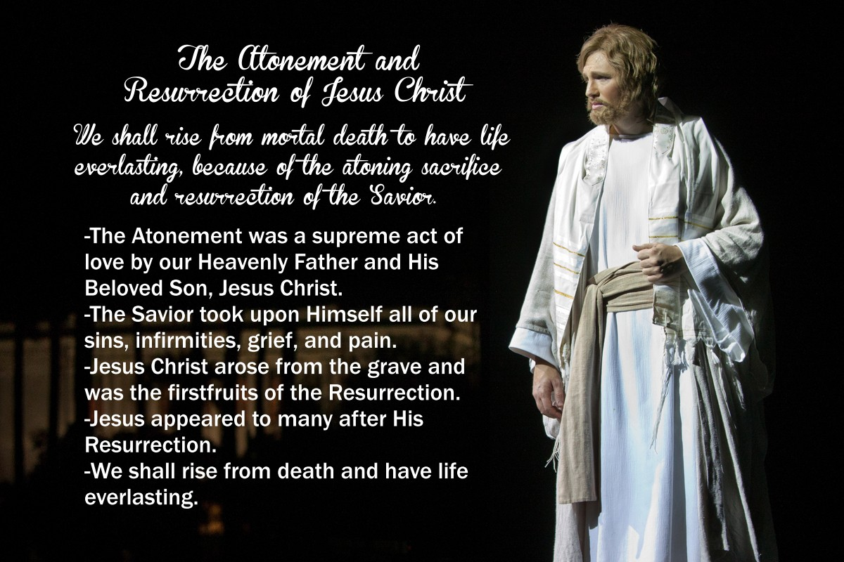 Chapter 6: The Atonement and Resurrection of Jesus Christ