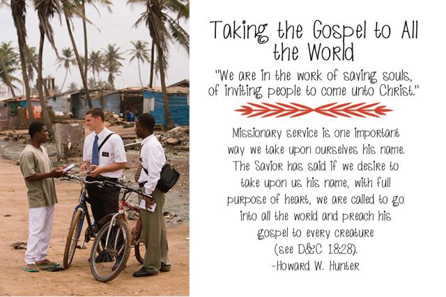 Chapter 8: Taking the Gospel to All the World