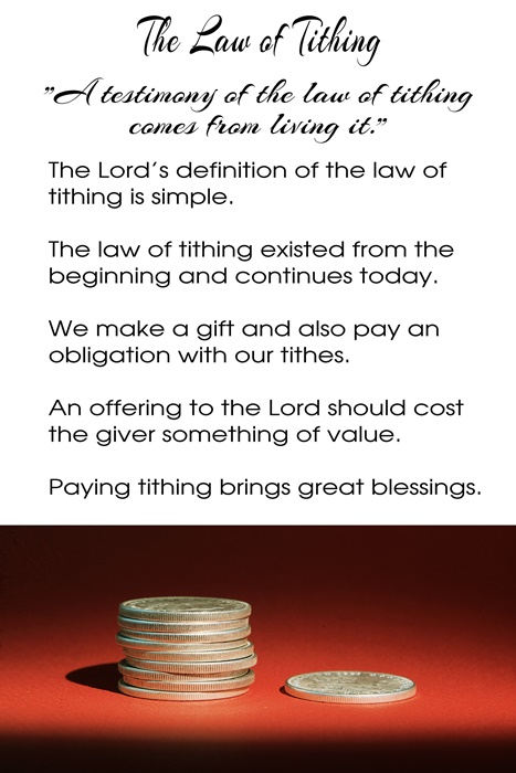 Howard W Hunter - Chapter 9 The Law of Tithing