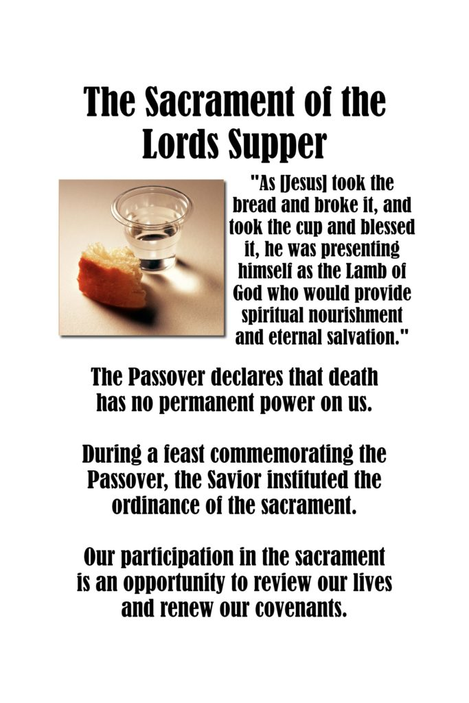 Howard W Hunter - Chapter 15 The Sacrament of the Lord's Supper