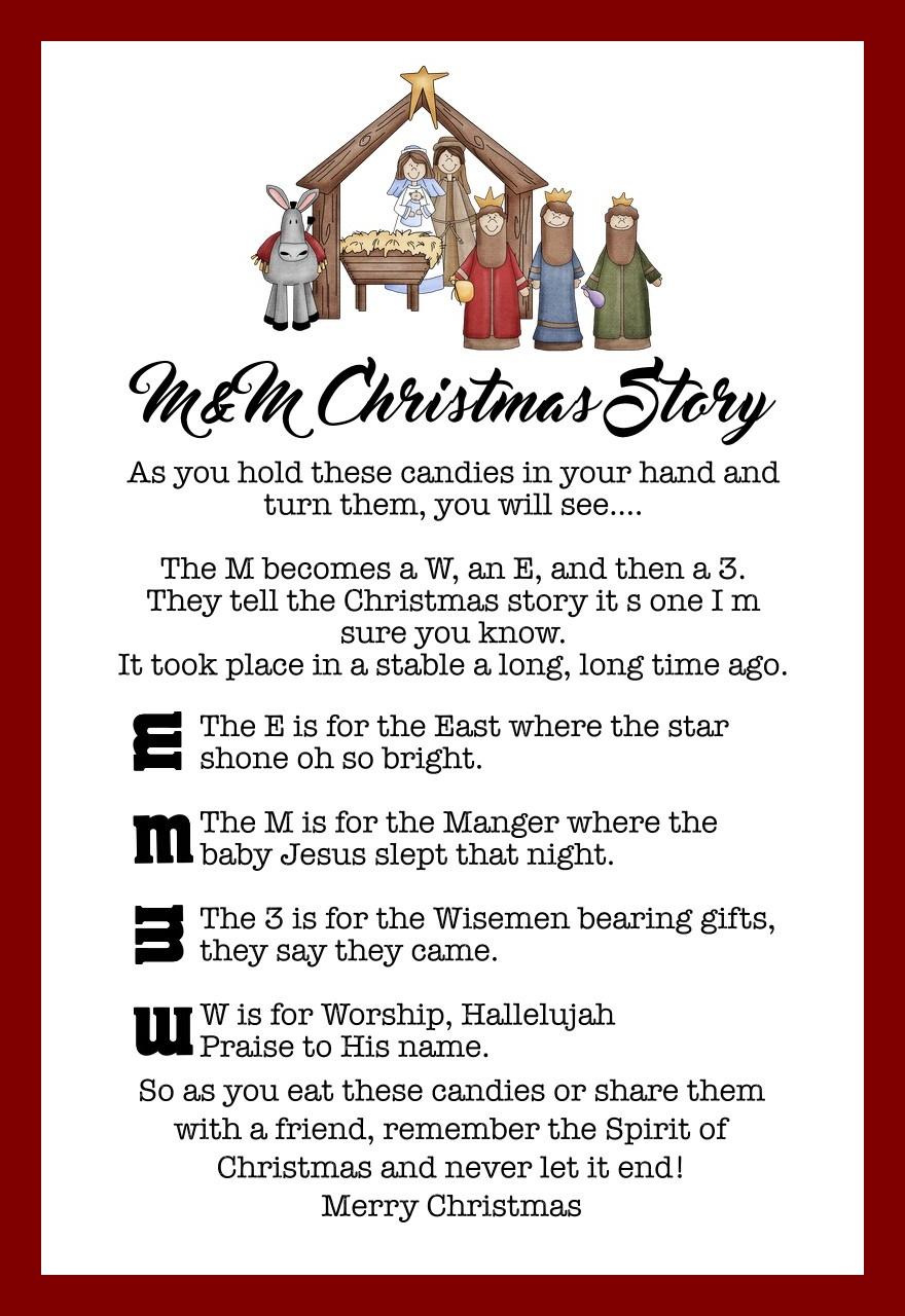 M M Christmas Story