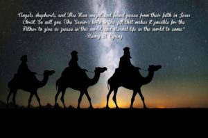 Angels, shepherds, and Wise Men sought…quote