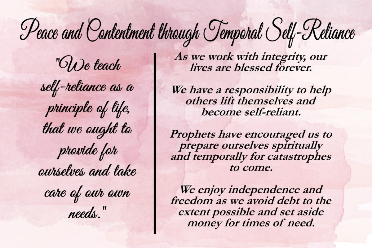 Gordon B Hinckley Quotes 13Chapter 13 Peace And Contentment Through Temporal Self