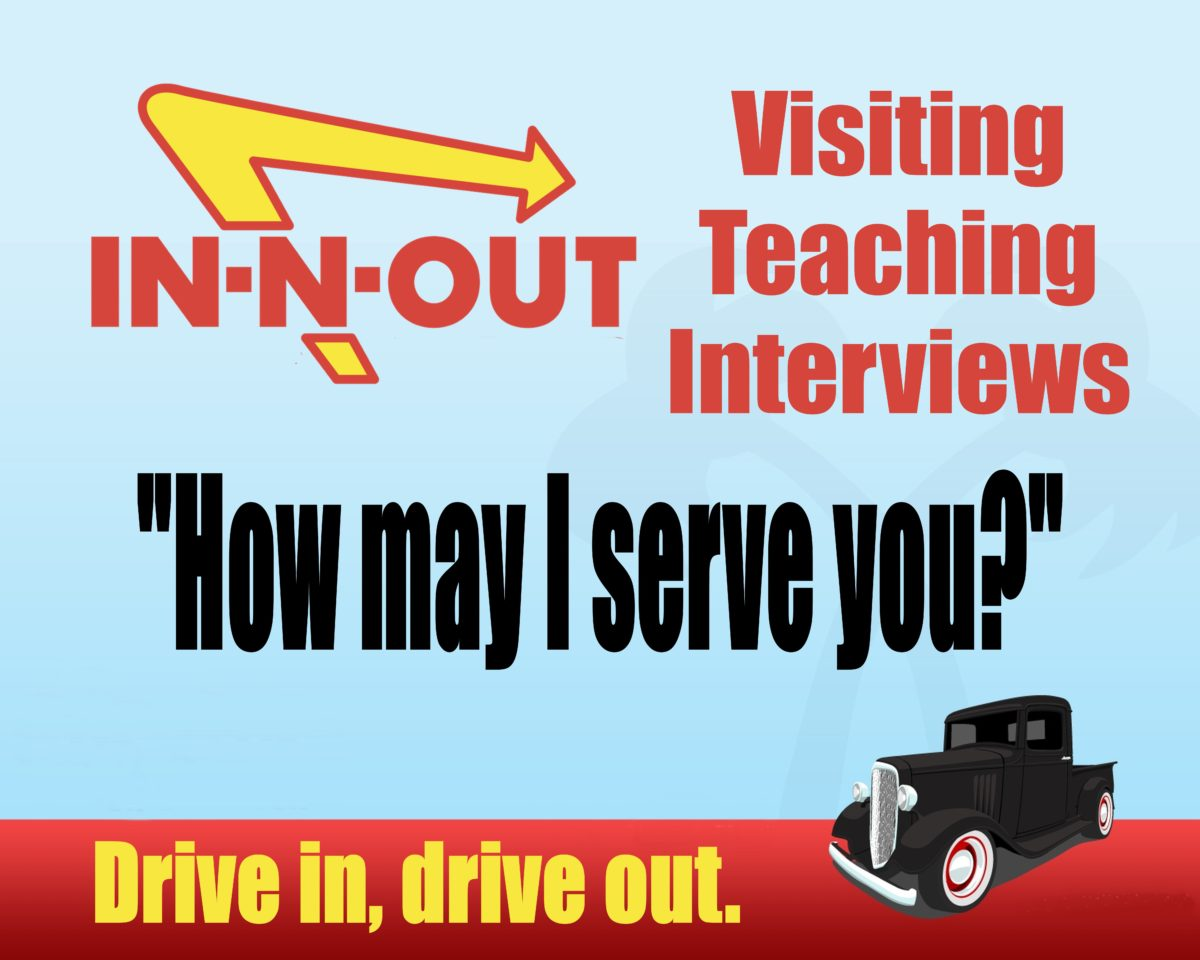In and Out Visiting Teaching Interviews