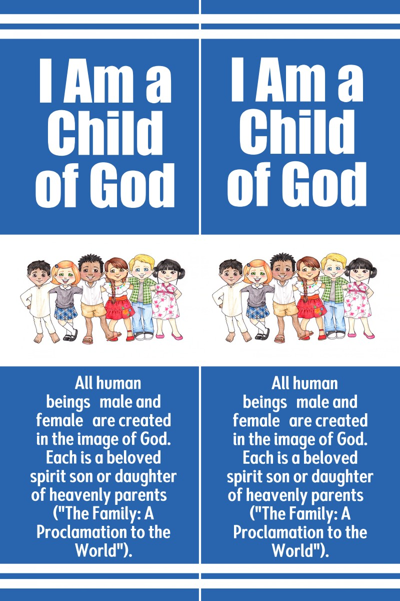 Bookmarks – I Am A Child of God