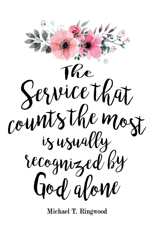 The Service that count…Quotes